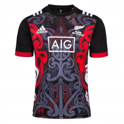 Maori All Blacks 2018-19 Training Rugby Jerseys