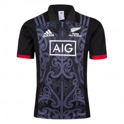 Maori All Blacks 2018-19 Home Rugby Jerseys