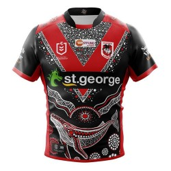 St. George Illawarra Dragons 2019 Hero version Rugby Jersey