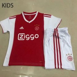 KIDS Ajax 2018-19 Home Soccer Jersey Kits