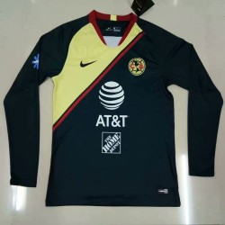Club American 2018-19 Away Long Sleeve Soccer Jersey