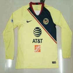Club American 2018-19 Home Long Sleeve Soccer Jersey