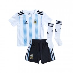 Argentina 2018 Home Kit Football Shirts Kids