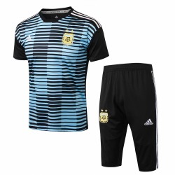 Argentina 2018-19 Training Short Sleeve Suits