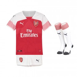 Arsenal Home Kids Kit 2018-19