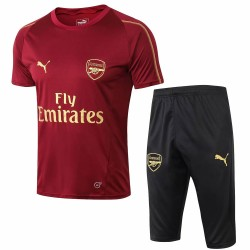 Arsenal 2018-19 Training Short Sleeve Suits