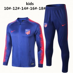 Kids Atletico Madrid 2018-19 Jacket Tracksuit