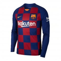 Barcelona 2019-20 Home Long Sleeve Shirt