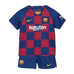 KIDS Barcelona 2019-20 Home Soccer Jersey Kits
