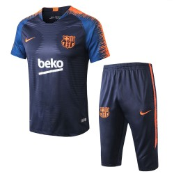 Barcelona 2018-19 Training Short Sleeve Suits