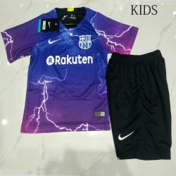 KIDS Barcelona Special Edition Soccer Jersey Kits