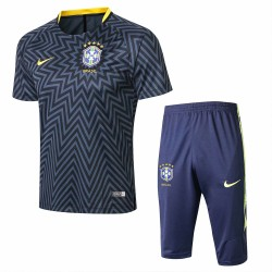 Brazil 2018-19 Training Short Sleeve Suits