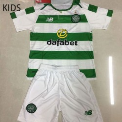 KIDS Celtic 2018-19 Home Soccer Jersey Kits