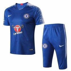 Chelsea 2018-19 Training Short Sleeve Suits