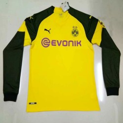 Dortmund 2018-19 Home Long Sleeve Soccer Jersey