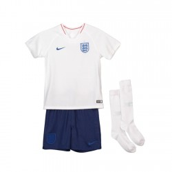England 2018 Home Kit Football Shirts Kids