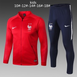 Kids France 2018-19 Jacket Tracksuit