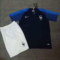 France 2018 World Cup Home Soccer Jersey Shirt Kits