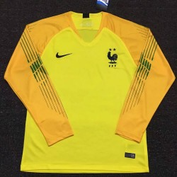 France 2018-19 Goalkeeper Long sleeves Jersey