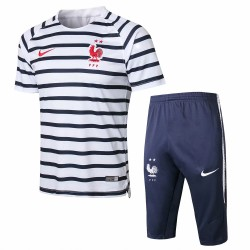 France 2018-19 Training Short Sleeve Suits