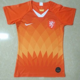 Holland 2019 Womens World Cup Home Shirt