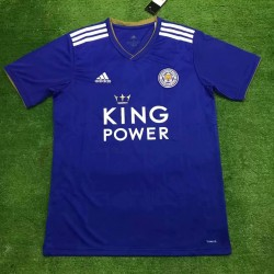 Leicester City 2018-19 Home Soccer Jersey