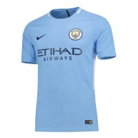 Manchester City 2017/18 Home Soccer Jersey Shirt