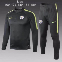 Kids Manchester City 2018-19 Training Tracksuit