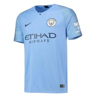 Manchester City 2018-19 Home Shirt Soccer Jersey