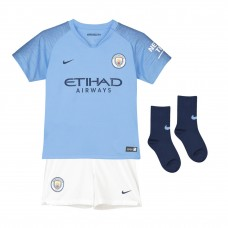 Manchester City Home Mini Kit 2018-19