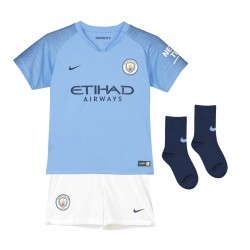 Kids Manchester City 2018-19 Home Kits