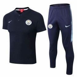 Manchester City 2018-19 Short Sleeve Polo Suits