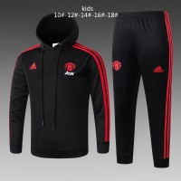 Kids Manchester United 2018-19 Hoodie Suits