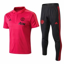 Manchester United 2018-19 Short Sleeve Polo Suits