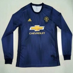 Manchester United 2018-19 Third Long Sleeve Soccer Jersey