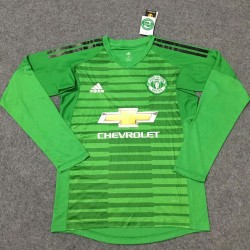 Manchester United 2018-19 Goalkeeper Long sleeves Jersey