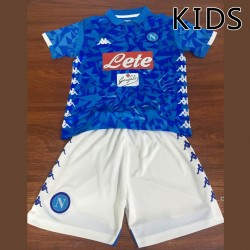 KIDS Napoli 2018-19 Home Kits