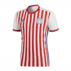 Paraguay 2018 World Cup Home Soccer Jersey Shirt