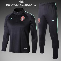 Kids Portugal 2018-19 Training Tracksuit