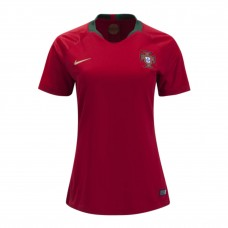 Portugal 2018 World Cup Home Soccer Jersey Women Shirt