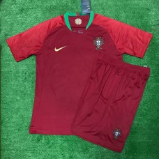 Portugal 2018 World Cup Home Soccer Jersey Shirt Kits