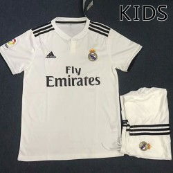 KIDS Real Madrid 2018-19 Home Kits