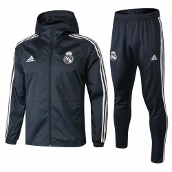Real Madrid 2018-19 Windbreaker Tracksuit