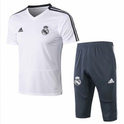 Real Madrid 2018-19 Training Short Sleeve Suits