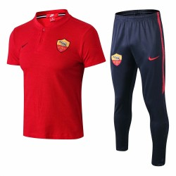 Roma 2018-19 Short Sleeve Polo Suits