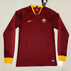 Roma 2018-19 Home Long Sleeve Soccer Jersey