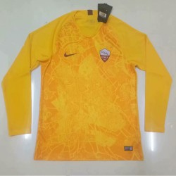 Roma 2018-19 Third Long Sleeve Soccer Jersey