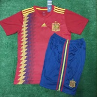 Spain 2018 World Cup Home Soccer Jersey Shirt kits