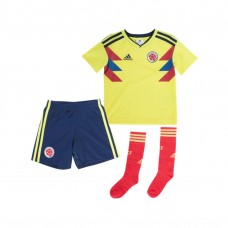 Colombia 2018 Home Kit Football Shirts Kids