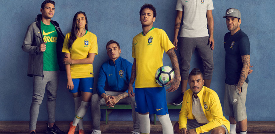 2018 World Cup Brazil Jerseys